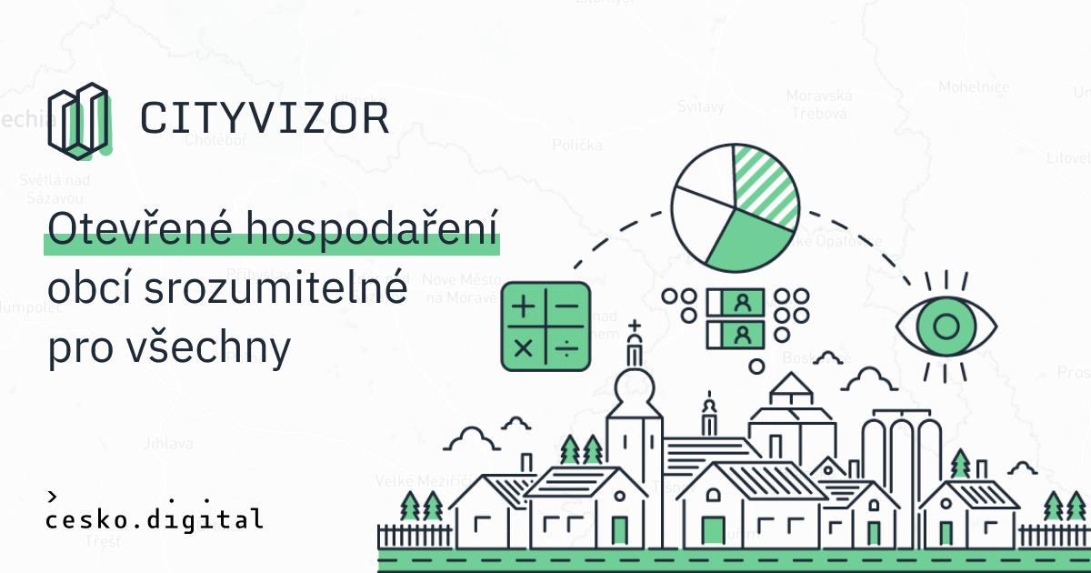 Cover článku Nový web aplikace Cityvizor je na světě. Usnadňuje cestu kinformacím ohospodaření obcí