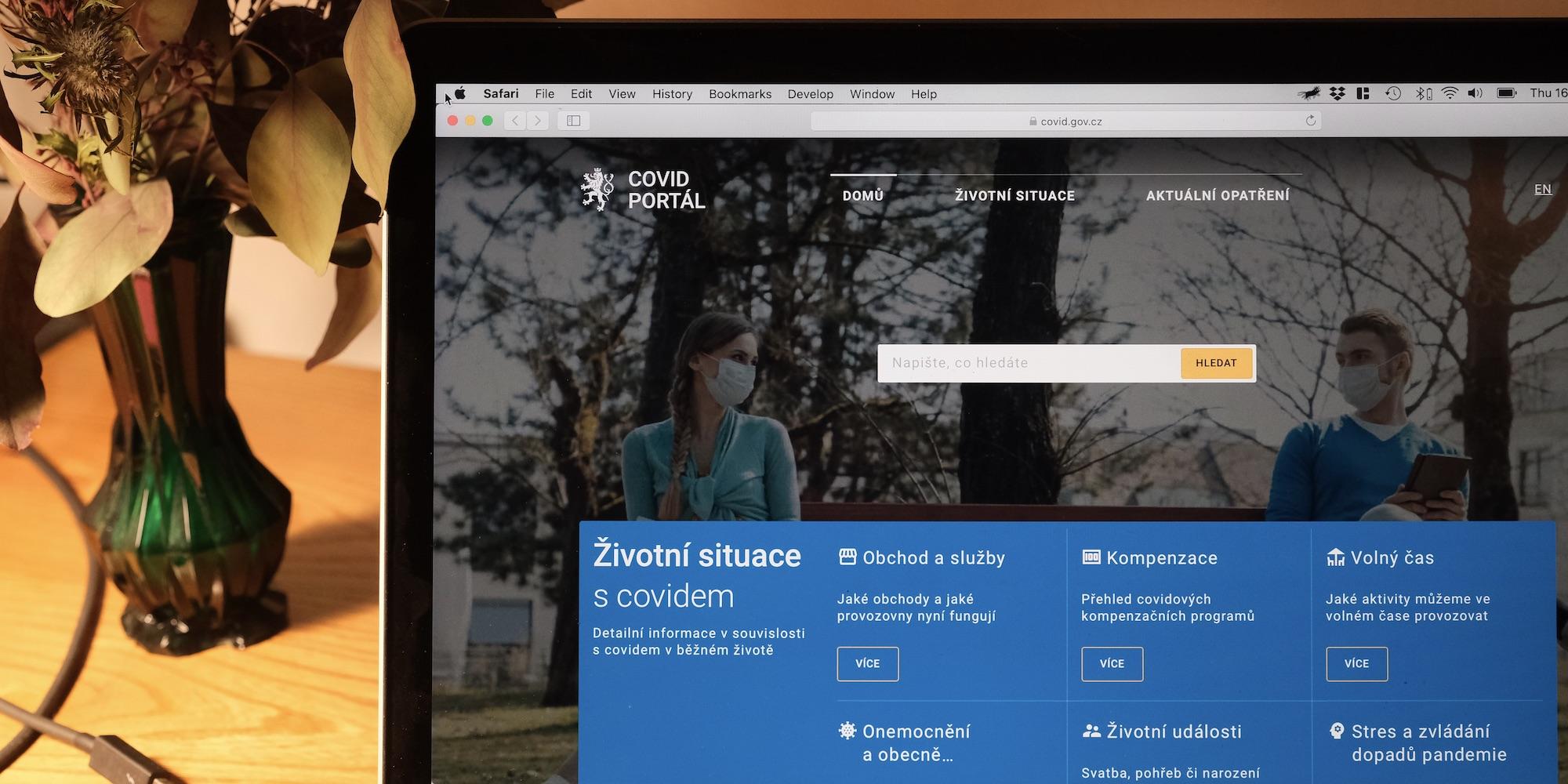 Cover článku Rychlost a spolupráce: Jak jsme během 14 dní spustili nový Covid portál