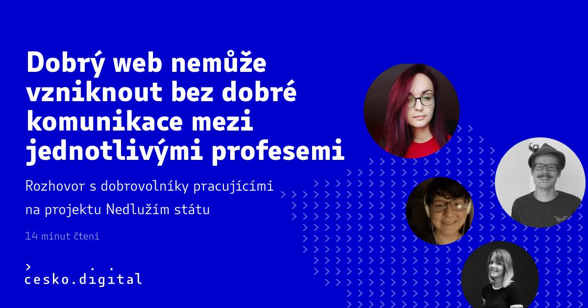 Cover článku Dobrý web nemůže vzniknout bez dobré komunikace mezi jednotlivými profesemi