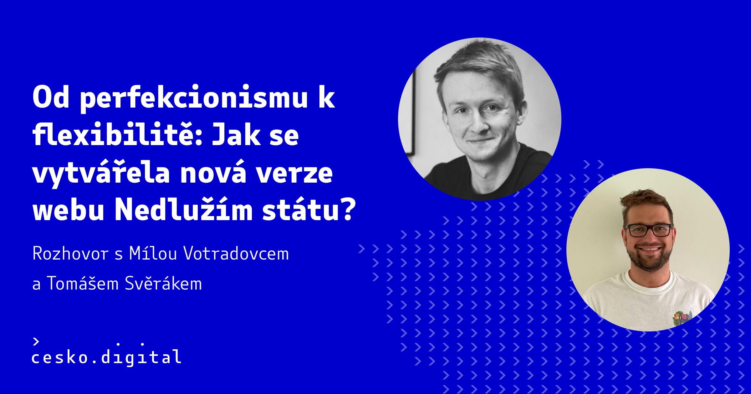 Cover článku Od perfekcionismu k flexibilitě: Jak se vytvářela nová verze webu Nedlužím státu?