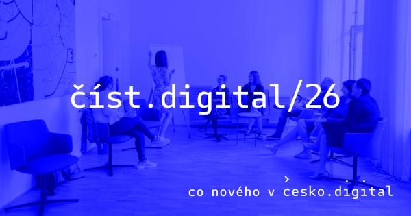 Cover článku číst.digital/26: Usnadňujeme budoucím učitelům cestu ke katedře | Ověřte si, že nedlužíte státu
